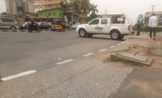 Police barricade anti-Tinubu rally in Lagos
