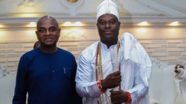 Ooni of Ife asks Moghalu to 'fire on'