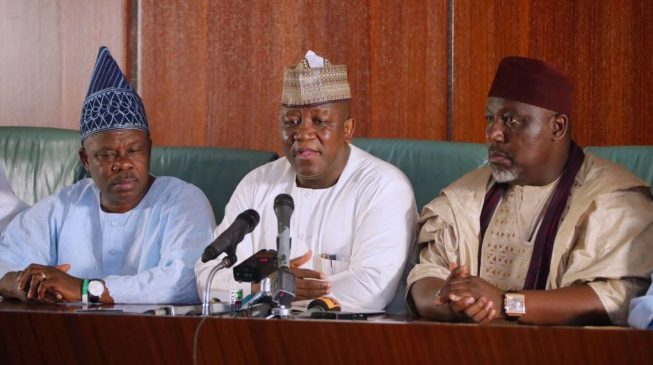 Amosun, Dankwambo, Okorocha — all the governors eyeing seats in 9th senate