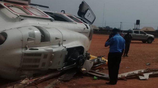 Unusual weather condition 'led to' crash of Osinbajo's chopper