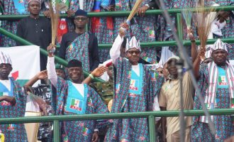 Buhari: It's our responsibility to throw corrupt persons into prison