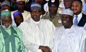 Buhari, Atiku finally sign peace accord