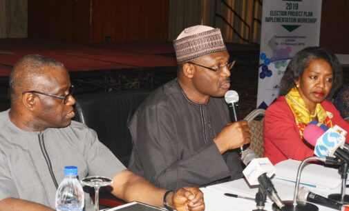 Edo guber: No candidate must have special advantage, Yakubu warns INEC staff