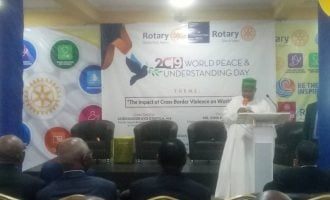 Rotary Club calls for peace ahead of polls