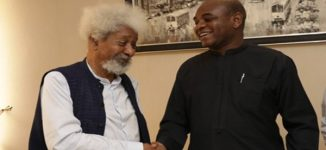 Soyinka endorses Moghalu — after rejecting Buhari, Atiku