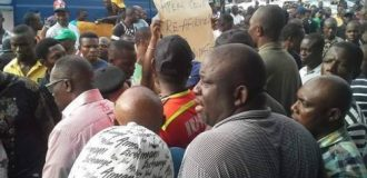 Police barricade INEC office in Rivers