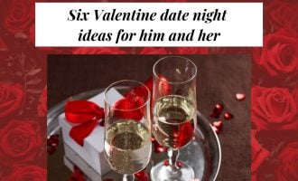 Six Valentine date night ideas for him and her