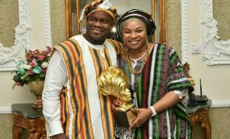 Yahaya Bello's wife involved in accident near Kabba