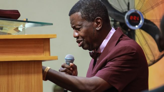 Adeboye leads RCCG in thanksgiving for Osinbajo after crash