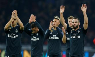 Real Madrid strike twice to punish impressive Ajax