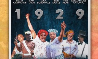 WATCH: Ireti Doyle, Sola Sobowale and Sam Dede shine in '1929' trailer