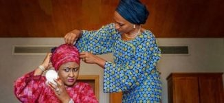 PHOTO: Dolapo Osinbajo enhances look of Buhari's wife