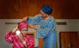 PHOTOS: Dolapo Osinbajo, Aisha Buhari's Aso Rock friendship