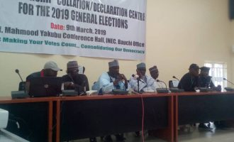 PDP leading in Bauchi but court will determine final outcome of election
