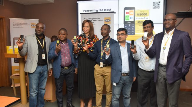 MTN launches 'affordable' smartphone