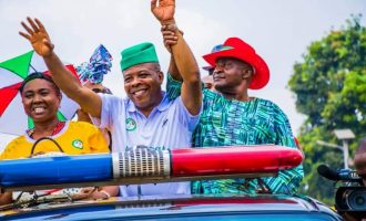 Ihedioha leading with over 100,000 votes in Imo