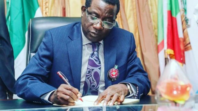 I won re-election because I pay salaries - Lalong