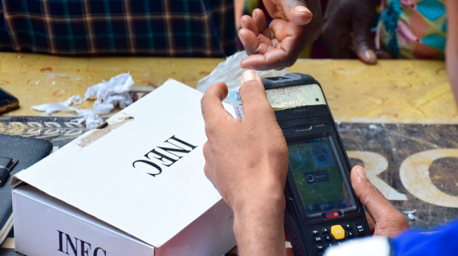 INEC: Non-use of card readers may lead to polls cancellation