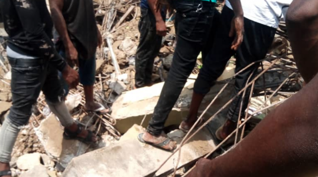 '27 pupils' rescued from collapsed school building in Lagos (updated)