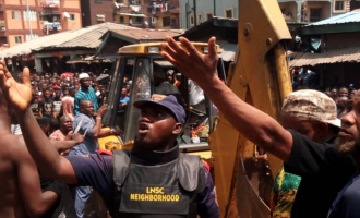 'It's touching to lose precious lives' — Buhari speaks on collapsed building