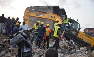 Lagos pulls down 30 defective buildings