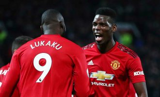Lukaku reacts to reports of bust-up with Pogba