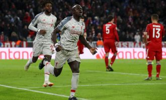 UCL: Brilliant Mane, Messi brace Liverpool, Barca into quarter finals