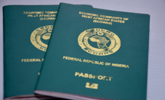 Getting Nigerian passport with tears