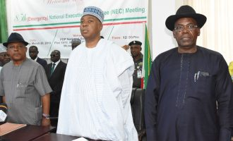 PDP leaders ask military to stay away from supplementary poll