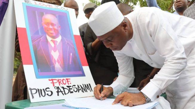 Saraki, Melaye, Aisha Yesufu… Abuja 'stands still' for Pius Adesanmi