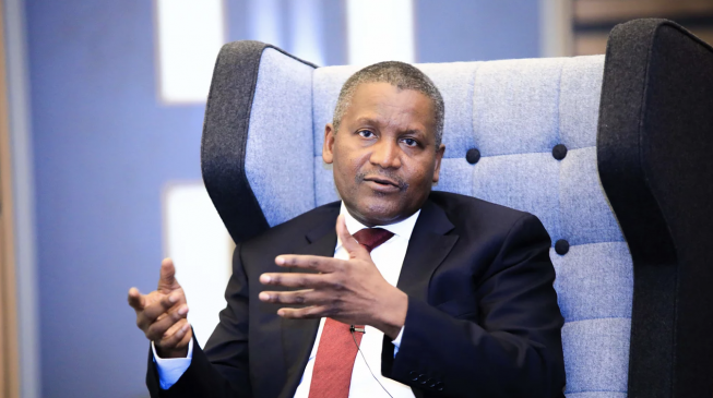 Aliko Dangote. Photo: Daily Post