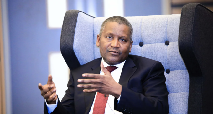 VIDEO: I'll try to give chunk of my wealth to charity in a few years, says Dangote