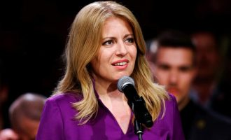 Slovakia elects first female president