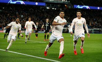 VARtastic Man United stun PSG to qualify for UCL quarter final
