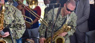 PHOTOS: US navy band performs at UNILAG