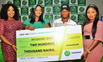 PROMOTED: GLO IN 60 SECONDS prize will help me rent house in Lekki, says grand finale winner