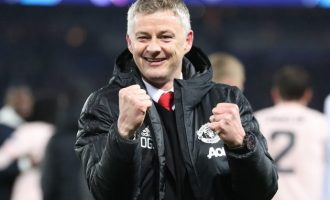 Manchester United appoint Ole Gunnar Solskjaer as full-time manager