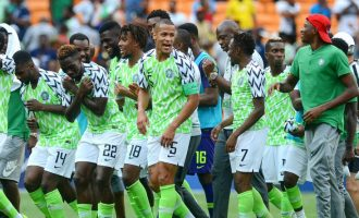 Nigeria moves up 12 spots on FIFA ranking, now 33rd in the world