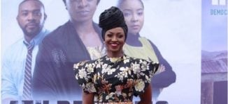 PHOTOS: Kate Henshaw, Waje, Linda Ejiofor, Sola Sobowale grace premiere of '4th Republic'