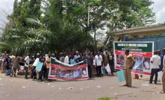 FCT indigenes protest at n'assembly over 'land grabbing' by army