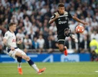 Ajax on the brink of Champions League final after stunning win at Tottenham