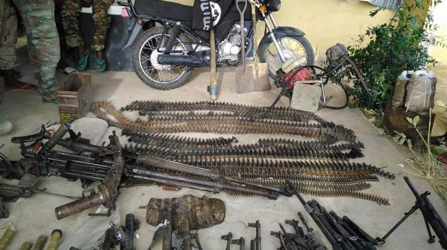 Army 'kills 27 insurgents', recovers arms