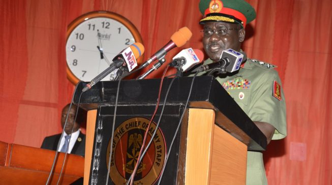 Buratai: Bandits are as strong as the society paints them