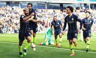 City to the top, Man Utd back at sixth as Arsenal get thrashed