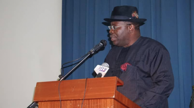 Dickson rejects life pension bill for Bayelsa lawmakers