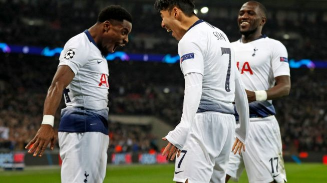England shines as Spurs, Liverpool record champions league victories