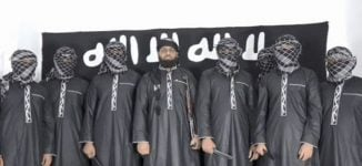 ISIS releases picture of seven men 'responsible for Sri Lanka bombings'