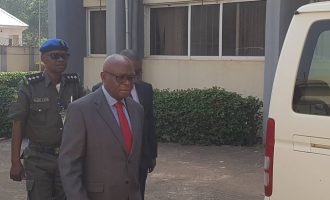 Onnoghen closes defence at CCT — after calling one witness