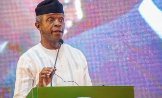 Osinbajo: Buhari has shown he's a man of his words