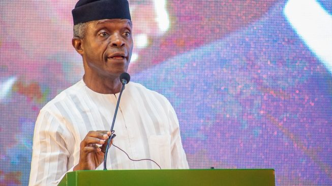 Osinbajo: FG can seize assets whether or not there's corruption allegation